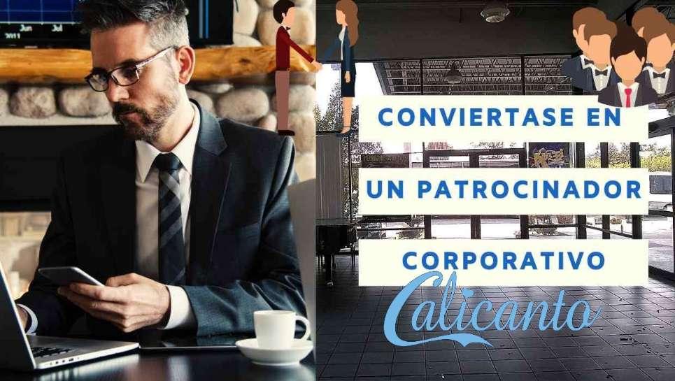 patrocinador corporativo