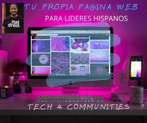 Crear su Pagina Web Comunitaria