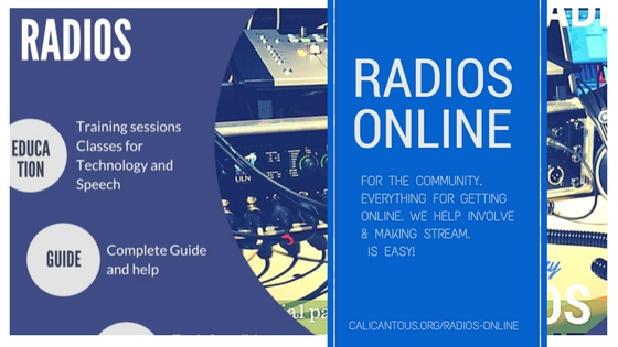 radios onlne for the communities