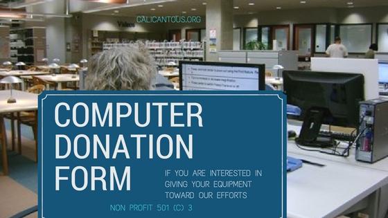 Formato de Donacion de Computadoras